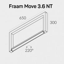 Светильник потолочный 3-1384 Fraam Move NT