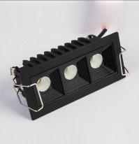 Светильник линейный врезной  SL-SD7003 bl