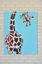 """Картина  Правдина Дениса """"Любопытный Жираф"""""""