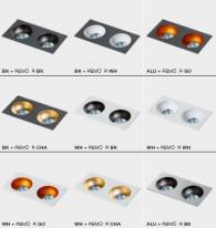 AZzardo Точечный светильник Hugo 2 Downlight
