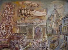 """Картина Гайрата Байматова """" Аэроклуб"""""""