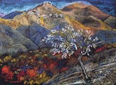 "Картина Гайрата Байматова ""Священное дерево"""