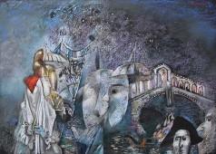 "Картина Гайрата Байматова ""Карнавал -1"""