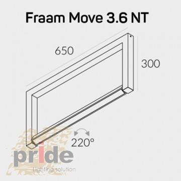 Labra Светильник потолочный 3-1384 Fraam Move NT