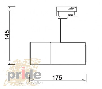 Pride Трековый светильник AC 750