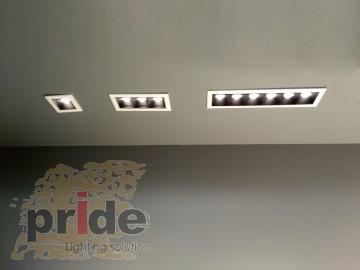 Pride Светильник линейный врезной  SL-SD7001 bl