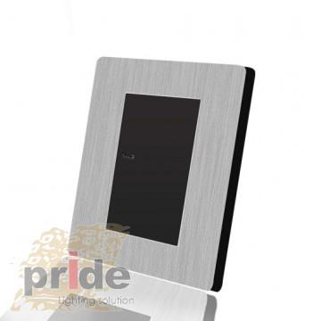 Pride А69 1KB одноклавишный проходной выключатель с LED индикатором