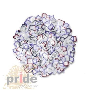 Pride —ветильник потолочный 69088C-2S Purple