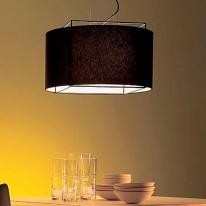 Светильник подвесной 8676S black