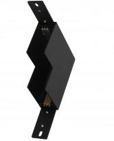 Угловой соединитель для магнитной системы MG 72 (Sandy black)