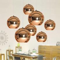Светильник подвесной D-300 copper