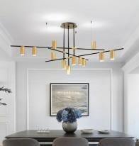 Светильник подвесной D81207-12 gold