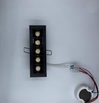 Светильник линейный врезной Point 133 black