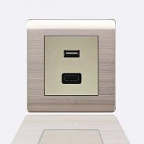 A66-E11 USB розетка 1A 2,1A