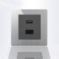 Pride USB розетка+UDMI A69/К9-E06