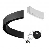 Pride Комплект №3 Магнитная система освещения Round Black and White