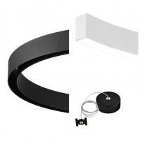 Pride Комплект №4 Магнитная система освещения Round Black and White