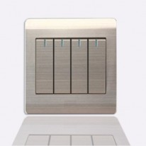 A66-K04В Выключатель перекрестный четырехклавишный