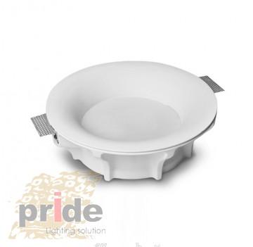 Pride Светильник гипсовый потолочный врезной 79240