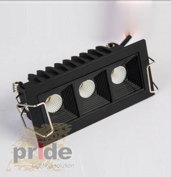 Pride Светильник линейный врезной  SL-SD7003 bl