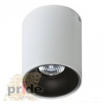 AZzardo Точечный светильник Remo WH+Remo R BK