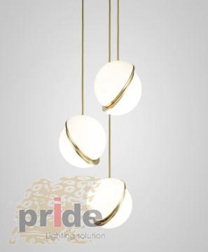 Pride Подвесной светильник  89182 S/3S gold