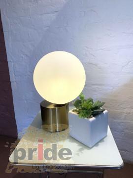 Pride Настольный светильник 21114 white/gold