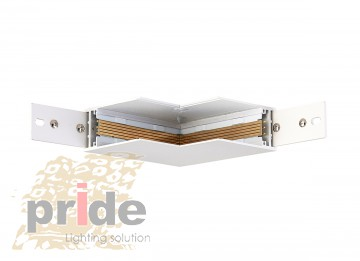 Pride Угловой соединитель для магнитной системы MG 25-72 white