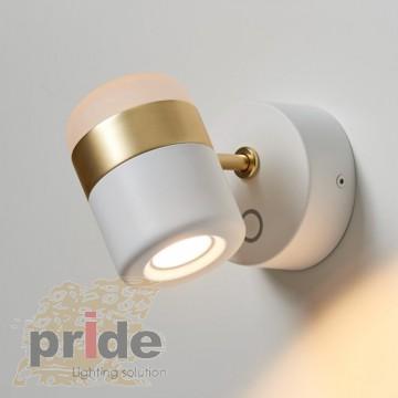 Pride Настенный светильник  59926w/ white