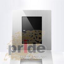 Pride А69 BK19 одноклавишный перекрестный  выключатель с LED индикатором