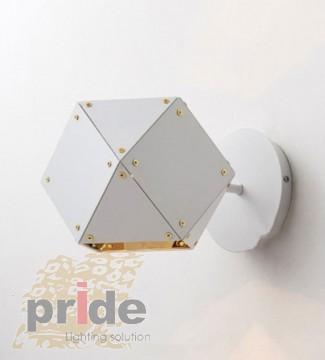 Pride Настенный  светильник  бра B51101-1 white