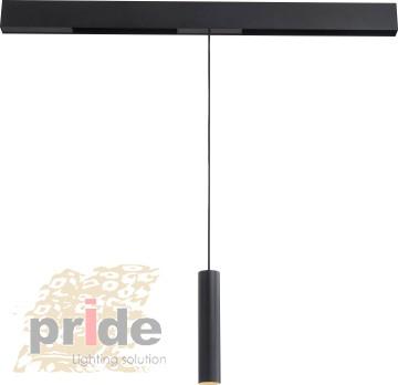Pride Светильник на  магнитную шину Tube 7835 (Sandy black)