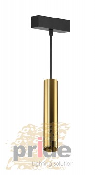 Pride Светильник на  магнитную шину Tube 7850 (Sandy gold)