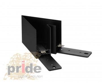 Pride Угловой соединитель для магнитной системы MG 80(Sandy black)