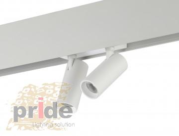Pride Светильник на  магнитную шину Sun 25-6037 white
