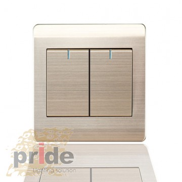 Pride A66-K20 ƒвухклавишный  перекрестный выключатель