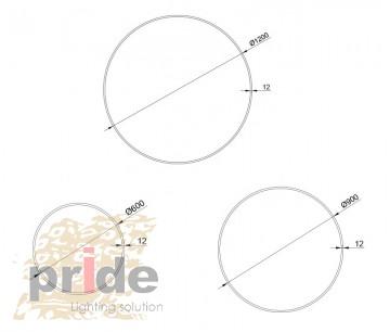 Pride Подвесной светильник LL-ALP830C-600