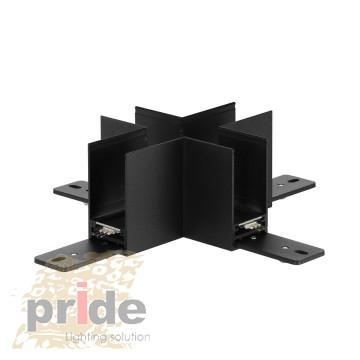 Pride Угловой соединитель для магнитной системы MG 27-81 Black