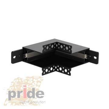 Pride Угловой соединитель для магнитной системы MG 27-62 Black