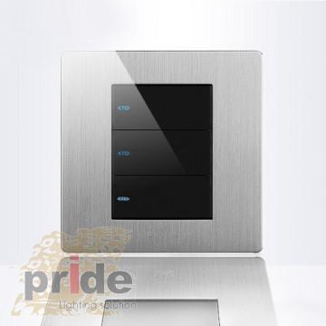 Pride Проходной трехклавишный выключатель A69-BK3B