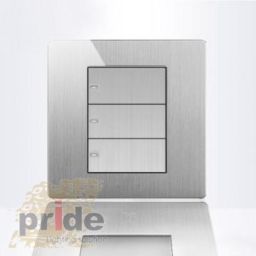 Pride Проходной трехклавишный выключатель K9-3B
