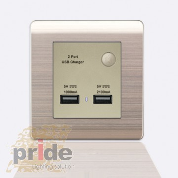 Pride USB розетка+UDMI A66-E24