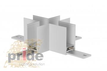 Pride Угловой соединитель для магнитной системы MG 27-81 White