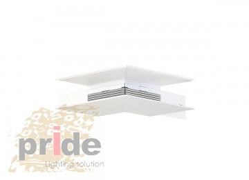 Pride Угловой соединитель для магнитной системы MG 27-73 White