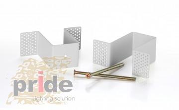 Pride Крепеж для встраивания магнитной трек шины MG 27-74 White