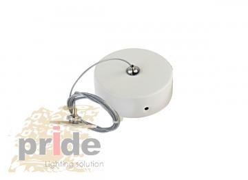 Pride Крепеж для подвесной системы магнитной трек шины MG 27-77 White