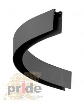 Pride Магнитная шина, круг  MG-E7900R 1/4 Black
