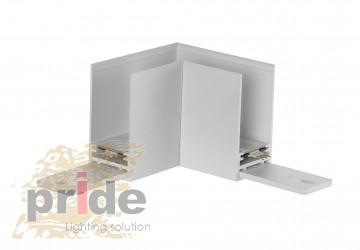 Pride Угловой соединитель 90° для магнитной системы DALI MG 71(90°) White