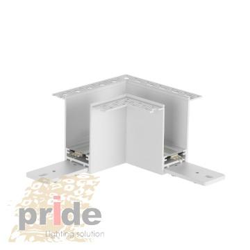 Pride Угловой соединитель 90° для магнитной системы DALI MG 61(90°) White
