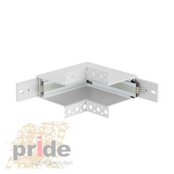 Pride Угловой соединитель для магнитной системы DALI MG 62 White